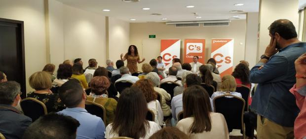Huelva.- 26M.- Rocío Ruiz asegura que Néstor Santos 'llevará el sello de Cs a la Alcaldía de Huelva'