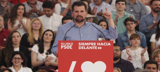 MItin de Pedro Sánchez en Valladolid
