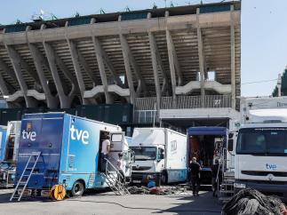 Preparativos Copa del Rey