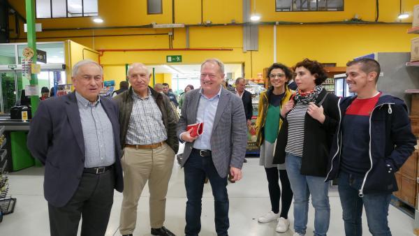 26M-M.- Gijón.- Martín (IU-IAS) Pide El Voto Para Garantizar Un Gobierno De Izquierdas Con Políticas De Izquierdas