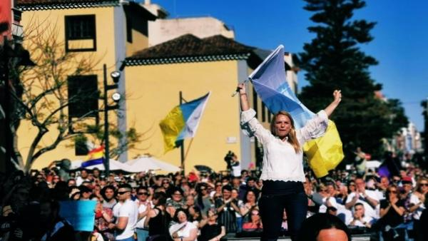 26M.- Santana Ve 'Asustadísimos' A Los Dirigentes De CC: 'Les Vamos A Echar'
