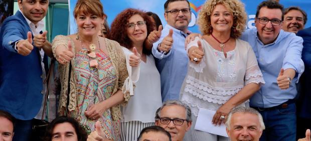 Huelva.- 26M.- Marín (PP) cierra la campaña con el reto de ser 'la primera alcaldesa de Huelva en 40 años de democracia'