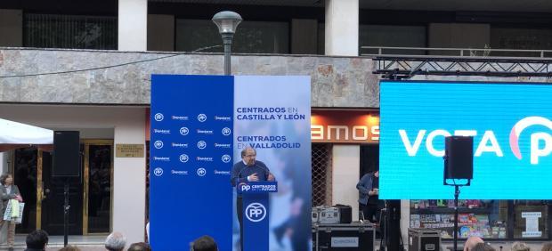 26M.- Herrera apela a concentrar el voto en el PP, la marca 'original' de centroderecha, porque '1+1+1 no suma, divide'