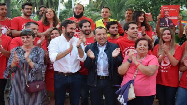 Málaga.- 26M.-El PSOE llama a los malagueños a 'protagonizar un cambio histórico' en Málaga el próximo domingo