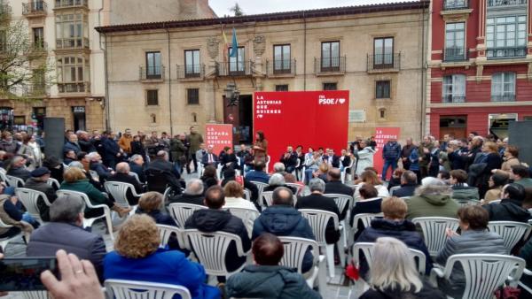 28A.- 'España tiene que ser el dique de contención de la ultraderecha en Europa', defiende Lastra (PSOE)