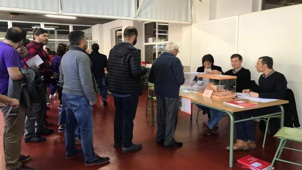 28A.- A participación alcanza o 58,93% en Galicia ás 18,00 horas, 7 puntos máis que en 2016