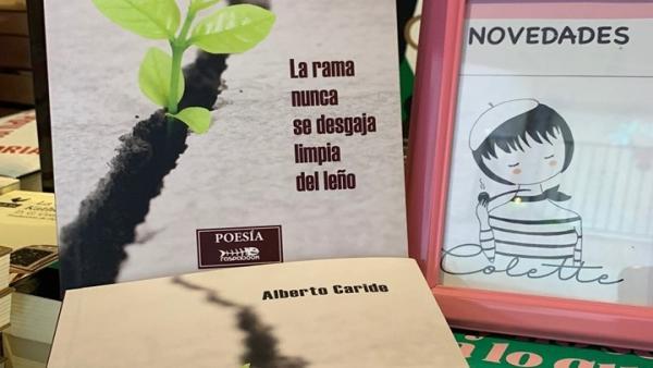 Alberto Caride presenta 'La rama nunca se desgaja limpia del leño' este miércoles en Colette leTRAs Y TRAgos