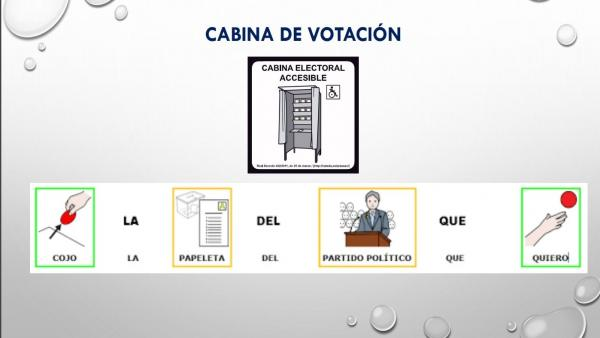 26M.- Un Colegio De Boiro (A Coruña) Será Pionero En Su Adaptación Para El Voto De Personas Con Discapacidad Intelectual