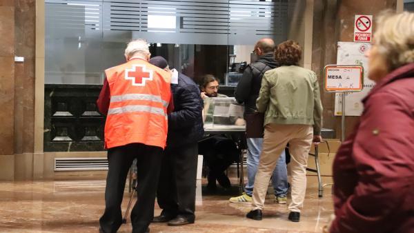 26M.- Zaragoza.- Unos 90 Voluntarios De Cruz Roja Ayudarán A Personas Con Movilidad Reducida A Ejercer Su Derecho A Voto