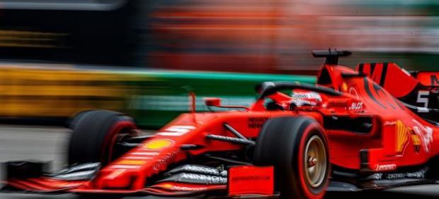 Vettel choca contra el muro de Mónaco durante los terceros libres