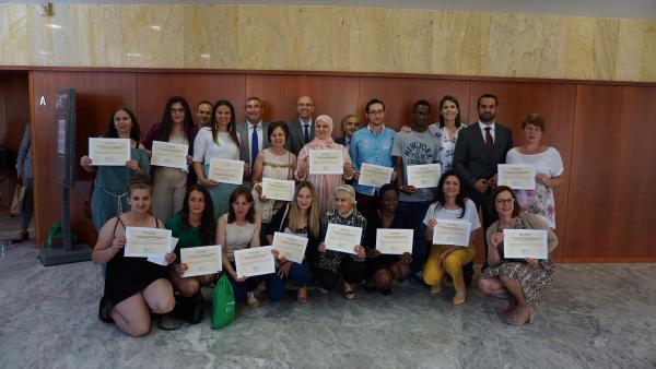 Málaga.- Educación y Deporte reconoce el esfuerzo y la superación personal de seis estudiantes de ESO para adultos