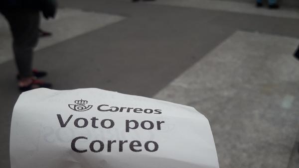 26M.- Un total de 904.000 ciudadanos han votado ya por correo para las elecciones locales, autonómicas y europeas