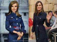 Muñeca de la reina Letizia