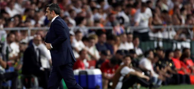 Valverde, muy tocado