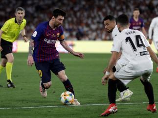 Messi marcó el 1-2