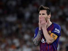 La desolación de Messi