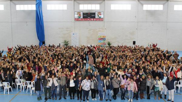 Huelva.- Más de 500 mujeres de 100 agrupaciones de la provincia participan en el Encuentro de Asociaciones de Diputación