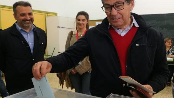 26M.- Aliaga (PAR) Espera Que Esta 'Fiesta De La Democracia' Transcurra Con La 'Más Absoluta Normalidad'