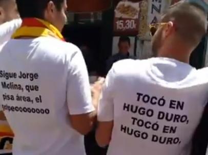 """""""Tocó en Hugo Duro"""""""