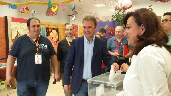 26M.- Alicante.- Bellido Confía En Que Haya Un Cambio Progresista Y Que La 'Sonrisa' De Compromís Sea La 'Protagonista'