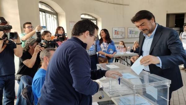 26M.- Alicante.- Barcala Dice Que Las Expectativas Del PP Son 'Muy Buenas' Tras Una Campaña 'Muy Competida'