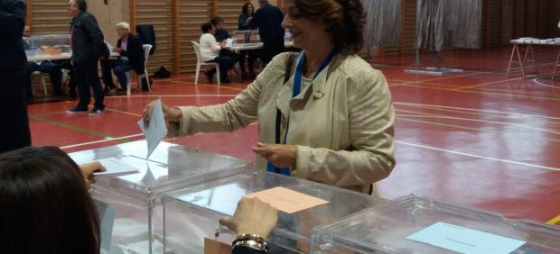 26M.- Emma Buj (PP) Confía En Una Alta Participación Y Anima A Los Turolenses A Votar