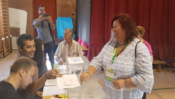 Almería.-26M.-Román (IU-Equo) llama a las urnas: 'Que la gente venga, vote, participe y diga qué es lo que quiere'