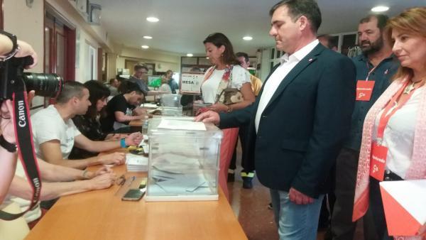Huelva.- 26M.- Santos (Cs) pide a los onubenses que 'se acerquen a votar' porque estas elecciones 'son fundamentales'