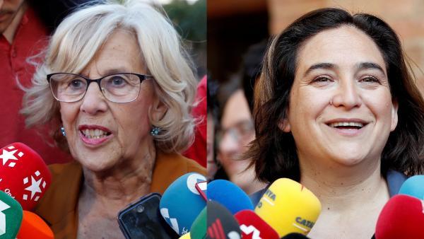 Carmena y Colau