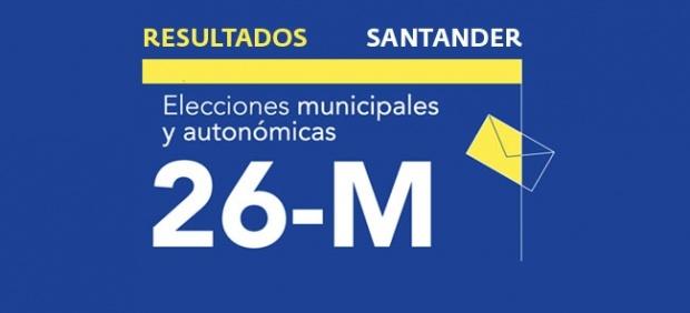 Resultados en Santander de las elecciones municipales 2019