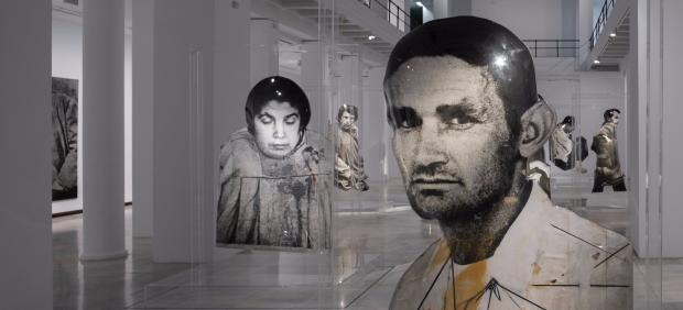 Vista de la exposición dedicada a Darío Villalba en Sala Alcalá 31