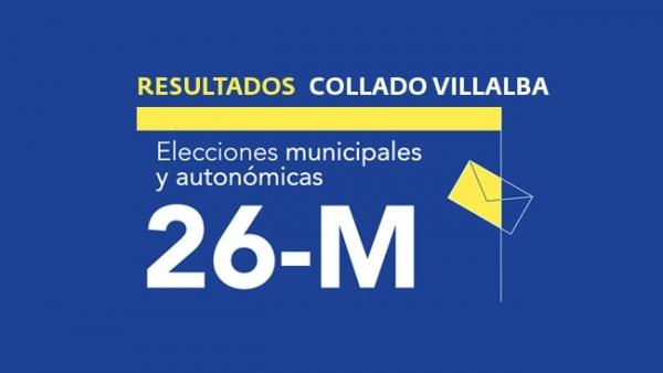 Resultados en Collado Villalba de las elecciones municipales 2019