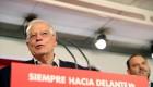 Borrell celebra la victoria del PSOE en las elecciones europeas