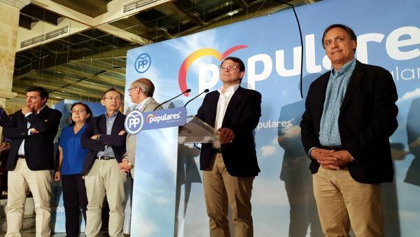 26M-M.- García Carbayo (PP) Se Propone Para 'Liderar' Un Gobierno 'Estable' Y 'Para Todos'