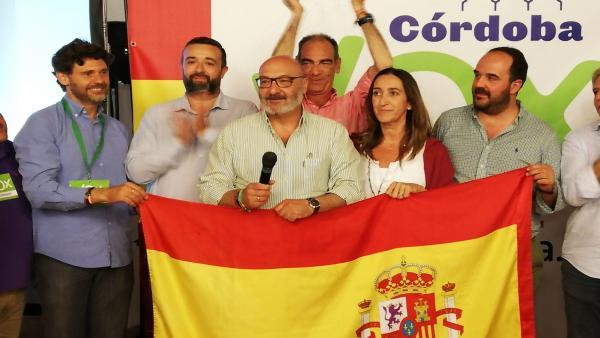 Córdoba.- 26M-M.- Hernández (Vox): 'Gracias a los votos de Vox se echa del gobierno a los socialistas y comunistas'
