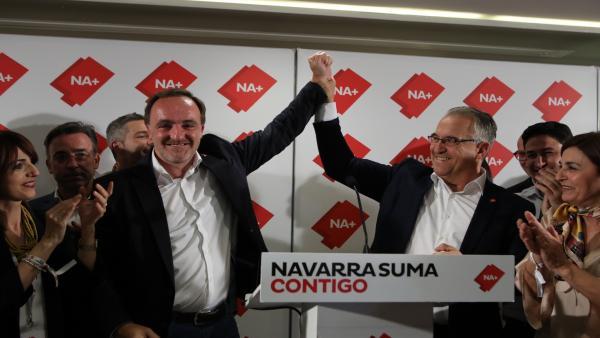 26M.- Esparza Llama A 'Formar Un Gobierno Constitucionalista En Navarra De La Mano Del PSN'