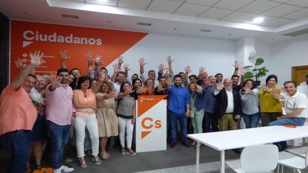 Córdoba.- 26M-M.- Albás (Cs) muestra su 'compromiso' para 'un gobierno sensato' tras 'votar cambio' los cordobeses