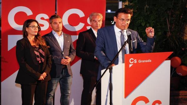 Granada.- 26M-M.- Salvador dice que Cs estará en el gobierno local, pero no aclara si apoyará a PP o PSOE en la Alcaldía