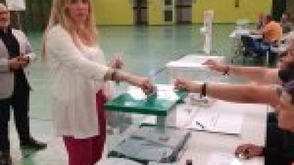 Jaén.- 26M-M.- Anguita destaca que Vox 'es una realidad en el Ayuntamiento' y afirma que 'la izquierda no va a gobernar'