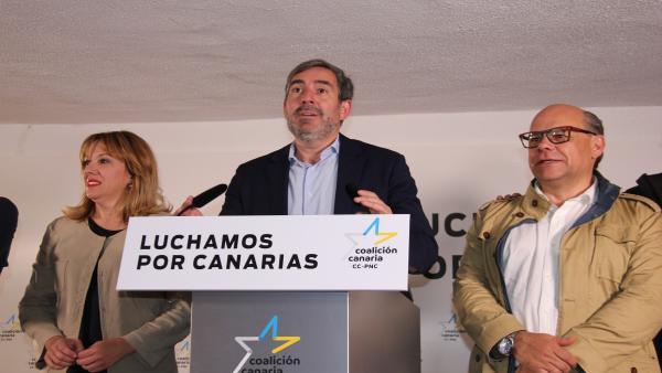 26M.- Clavijo Dice Estar 'Muy Satisfecho' Con Los Resultados Y Destaca Haber 'Frenado En Seco' A La Izquierda Populista