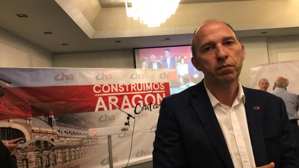 26M.- Zaragoza.- Asensio Dice Que El Resultado Es 'Malo' Porque CHA Pierde Representación Y Hay Una Mayoría De Derechas