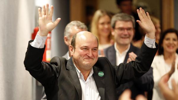 El presidente del PNV Andoni Ortuzar