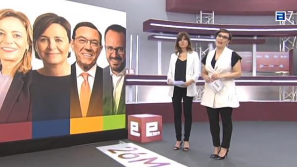 26M.-TPA Fue La Cadena Preferida Por Los Asturianos Para Seguir El Escrutinio Electoral