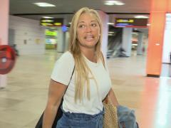 Belén Esteban regresa de Ibiza después de su despedida de soltera