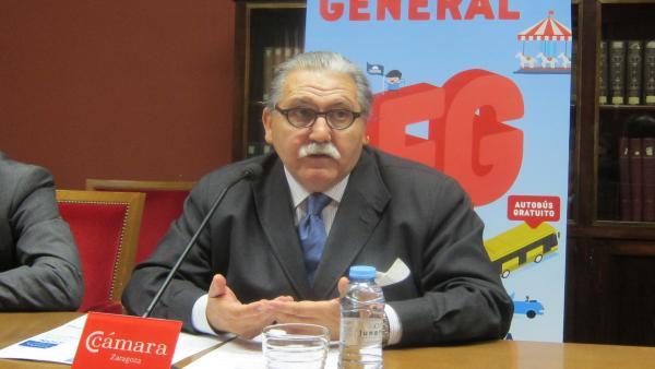 El presidente de Cámara Zaragoza, Manuel Teruel