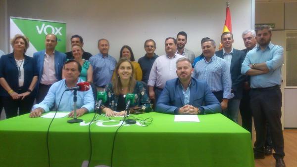 Sevilla.- 26M.- Vox prevé ser 'el azote de los partidos tradicionales' de la capital y 'alternativa real' a la izquierda