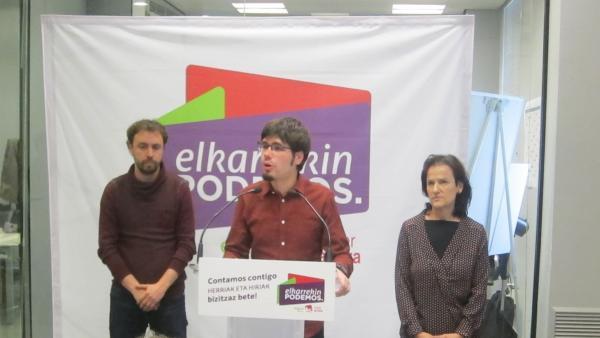 26 M.-Martínez (E-Podemos) Ve Que Pese A 'Errores' Han Rentabilizado La Unidad De La Izquierda Más Que En El Estado