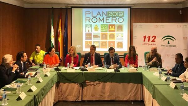 Huelva.- El Plan Romero 2019 contempla el primer Rocío cardioprotegido de la historia y con GPS para todas las filiales