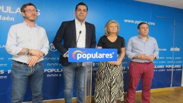 Jaén.- 26M-M.- Satisfacción en el PP por mantener sus diez representantes en la Diputación de Jaén