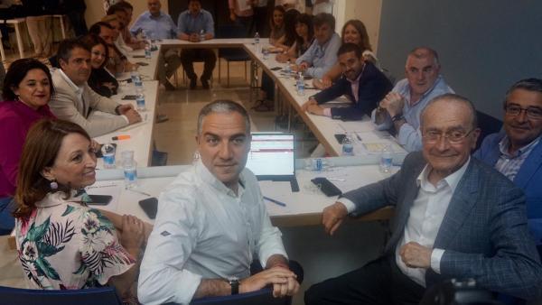 Málaga.- 26M.- Bendodo espera reeditar pacto con Cs en Diputación tras quedar PP a unos 1.000 votos de mayoría absoluta